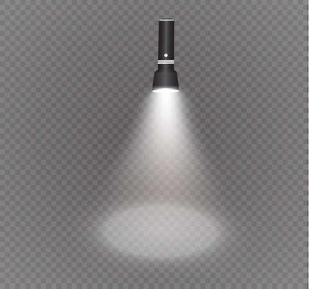 linterna en un efecto transparente de la iluminación de background.the.