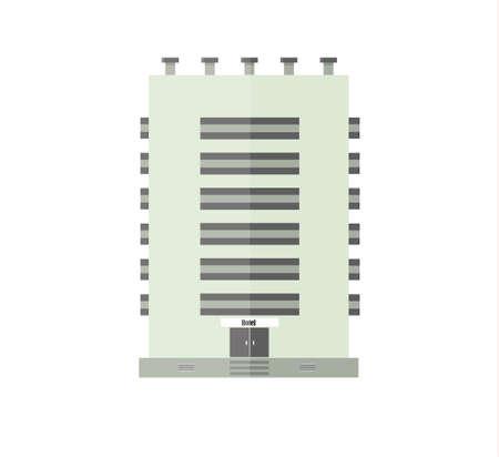 City building design image illustration