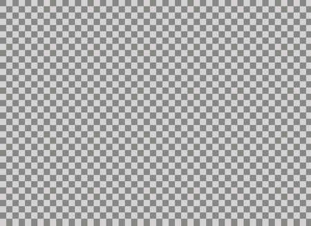 Fond transparent Grille transparente. Texture d'échiquier gris et blanc incolore. Fond quadrillé illustratif bidimensionnel standard.