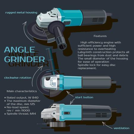grinder: grinder Illustration