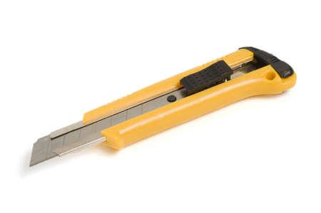Utility knife isolated on white background