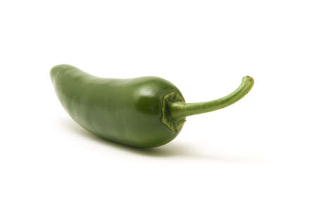 Isolated Jalapeno Pepper isolated on white background Stock Photo
