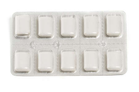 Package of nicotine gum a common quit smoking aid