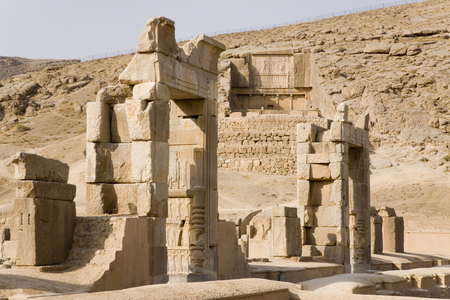 persia: Gateway to Kings Palace and Tomb, Persepolis, Iran or Persia