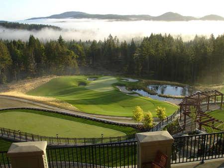 golf green 版權商用圖片