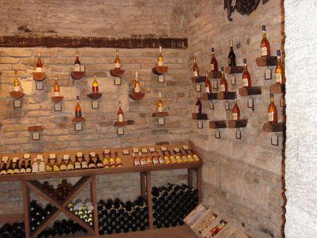 Cave à vin Banque d'images - 684069