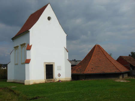 white church Stok Fotoğraf