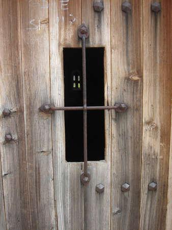 barred window Stok Fotoğraf
