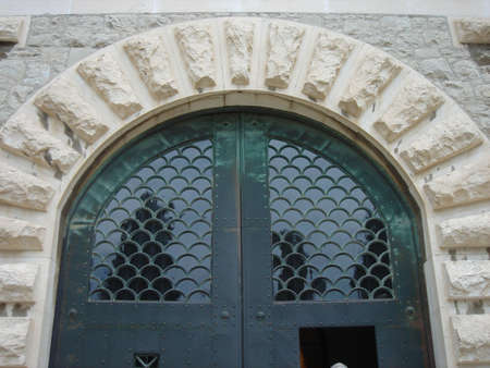Steel Arched Door