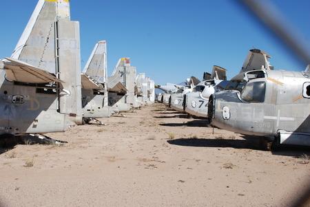 Airplane Wrecks Graveyard Arizona