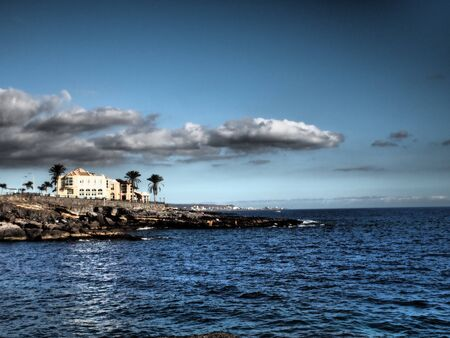 adeje: Atlantic Ocean Teneriffa Coast Adeje Dramatic Skies