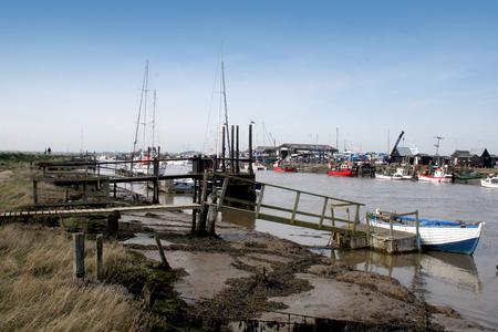 moorings: Walberswick In Suffolk