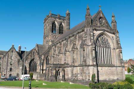 Abad�a de Paisley en Escocia. Se cree que donde William Wallace (Braveheart) fue educado hace 700 a�os.  Foto de archivo