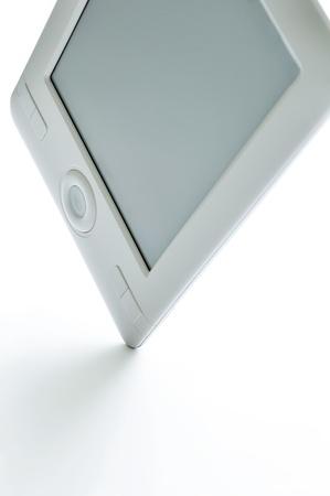 Contemporary E-book on white background. Stock Photo - 9797243