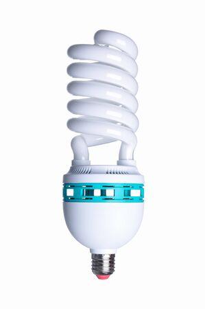 白い背景で隔離された工業用ランプ
