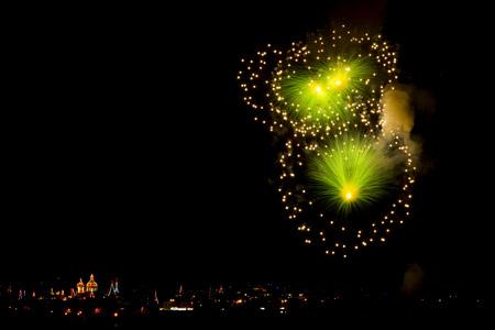 Fest der hl. Maria, Imqabba Malta. Feuerwerksanzeige