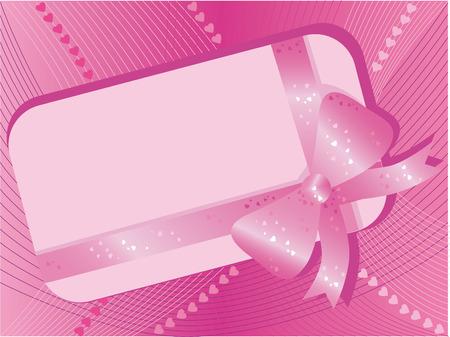 curlicue: Valentines day background Illustration