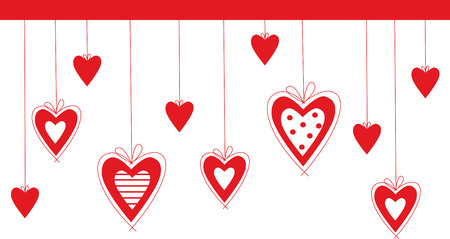 vector valentine background with heart Stock Vector - 4023315