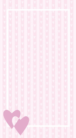 vector valentine background with heart Vector