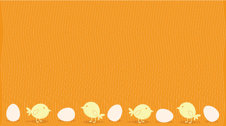 Easter eggs and birds vector illustration Vector
