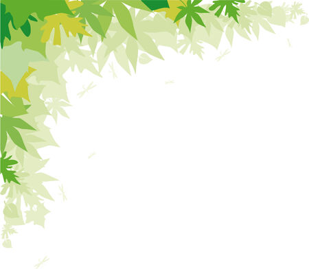 greenpeace: Abstract background with green foliage