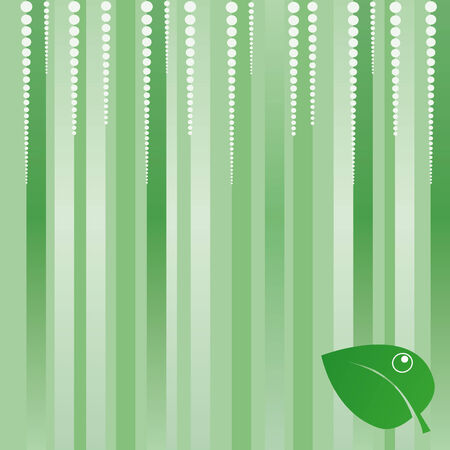 Green eco background Stock Vector - 4479481