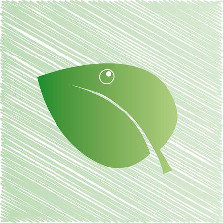 Green eco background Stock Vector - 4479482
