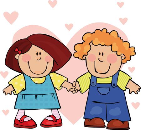 Funny Valentine couple
