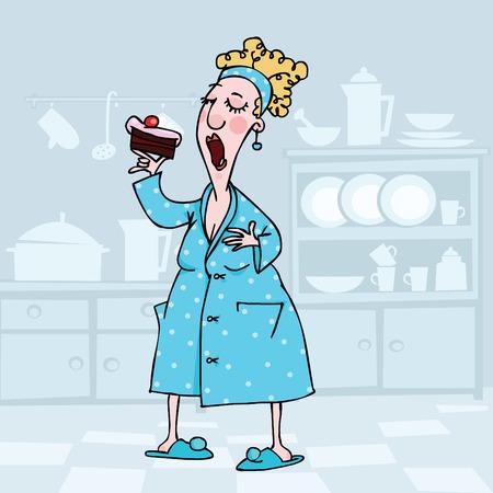 casalinga: A partire da mia dieta domani