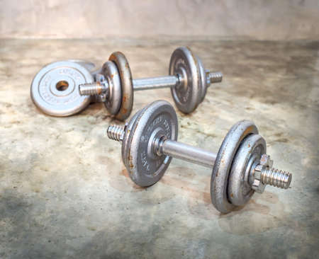 massy: rusty dumbbells