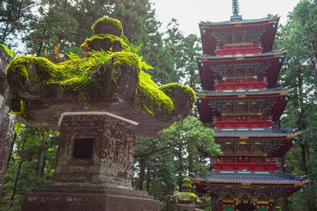 Japans natural attractions, tourism, Tokyo, Kyoto, Osaka, Nara, Nikko, Nagoya, Hakkone 스톡 콘텐츠 - 135028649
