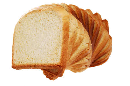 Toast bread tree side view photo