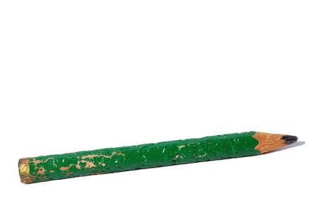chewed pencil concept of thinking Imagens