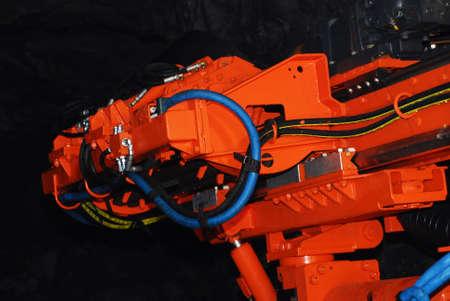 New heavy duty mine boring machine