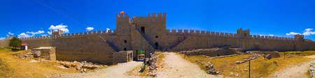 Fortress of tzar Samoil, 10th century, Ohrid, Macedonia panorama