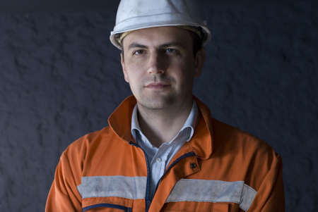 Miner portrait stock photo Stock Photo - 2920860