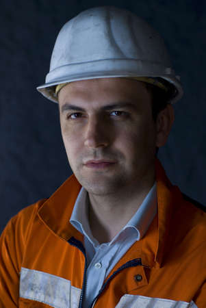 Portrait of a worker stock photo Stock Photo - 2920863