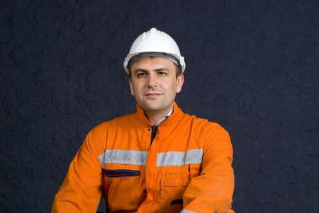 Proud worker portrait stock photo Stock Photo - 2920866