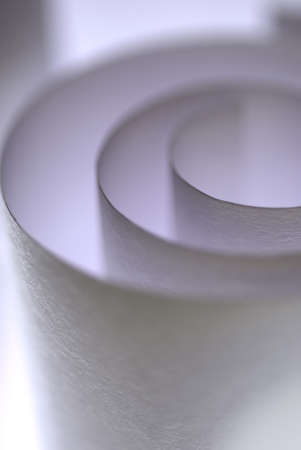 Textured paper roll with thin focus play photo