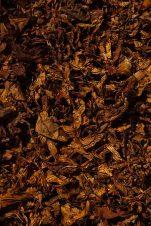 Tobacco background prepared for production of cigarettes