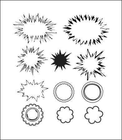 callout: Callout Shapes (Speech Bubbles), No.3