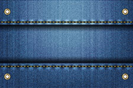 jeans texture: Blue jeans background.  illustration