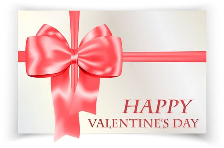 Valentines day greeting card.  illustration Stock Vector - 17542412