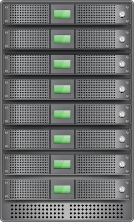 server: I server in installati in rack di