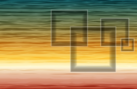 Colorful abstract background. Desert sunset. Vector