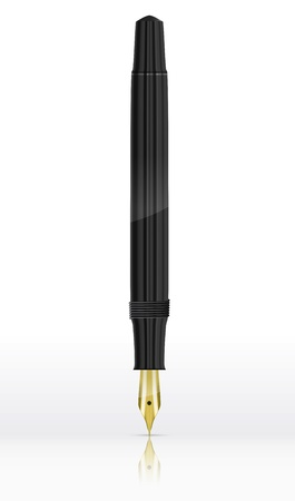 Fountain Pen. Vector illustration Vector