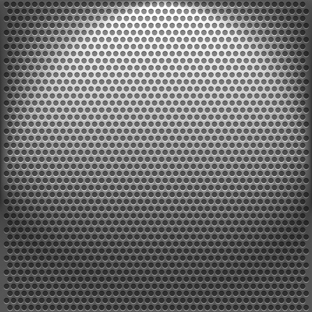 Metallic backgrounds with holes. Vector illustration Stock Vector - 21173135