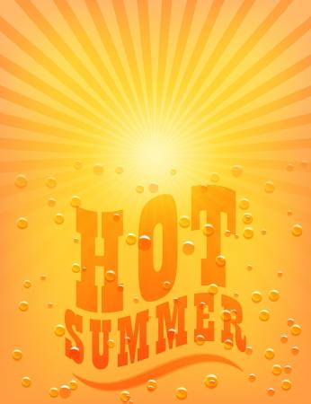sunbeam background: Sun Sunburst Pattern. Hot Summer.