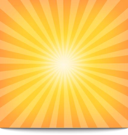 太陽サンバースト パターン。ベクトル イラスト