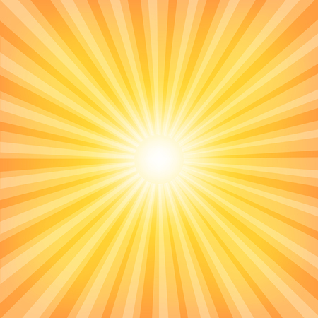 Sun Sunburst Pattern. Vector illustration Vector
